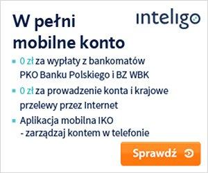 Konto młodzieżowe Inteligo Inteligo