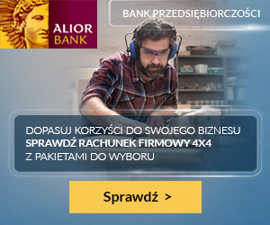Rachunek firmowy 4x4 Alior Bank