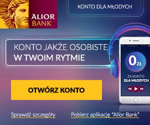 Konto dla MŁODYCH Alior Bank