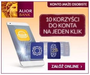 Konto JAKÅ»E Osobiste z premiÄ… Alior Bank