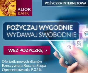 Pożyczka internetowa Alior Bank