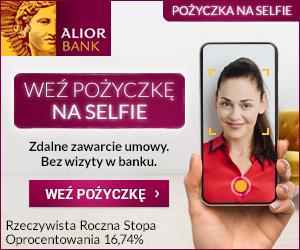Alior Bank Pożyczka na Selfie