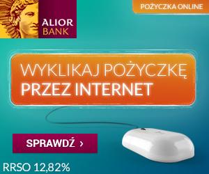 Pożyczka gotówkowa online Alior Bank