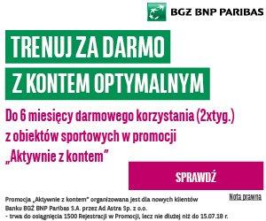 BGŻ BNP Paribas Konto Optymalne + karnety OK system