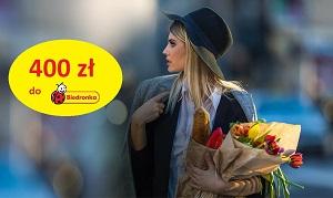 Karta +400 zł do Biedronki BNP Paribas