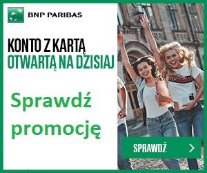 Konto Otwarte na Ciebie BNP Paribas