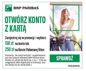 Na stacji korzyści BNP Paribas
