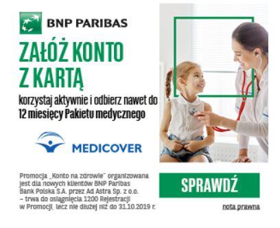 Premia na Zdrowie BNP Paribas