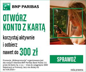 BNP Paribas Konto w Wideopromocji
