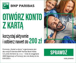 Zostań w domu BNP Paribas