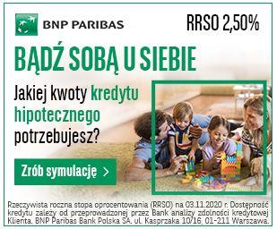 BNP Paribas Kredyt hipoteczny
