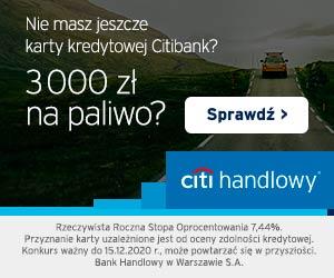 Citi Handlowy Citi BP Motokarta kredytowa