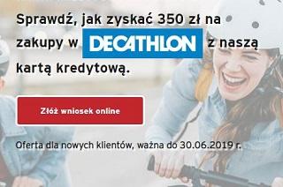 Karta kredytowa i 350 zł do Decathlon Citi Handlowy