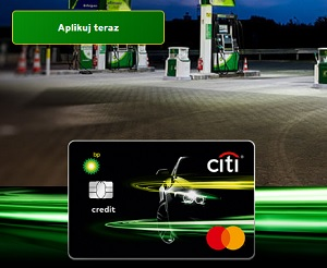 Citi BP Motokarta +bonus 1120 zł Citi Handlowy