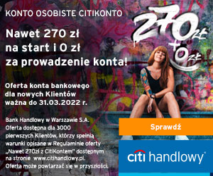 Citi Handlowy Citi Konto Finansowa Rewolucja
