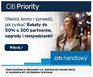 Konto Citi Priority Citi Handlowy