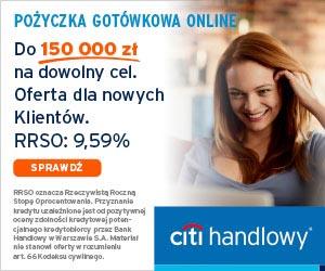 Pożyczka gotówkowa Citi Handlowy