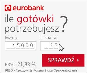 Kredyt got贸wkowy Eurobank