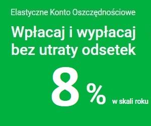 Elastyczne konto oszczędnościowe Getin Bank