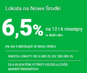 Getin Bank Lokata na NOWE ÅšRODKI