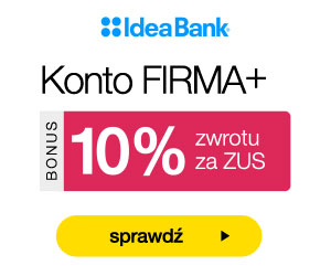 Konto FIRMA+ Idea Bank