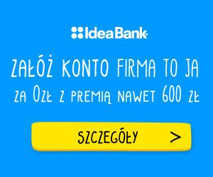 Konto FIRMA to JA Idea Bank