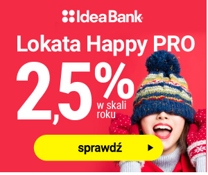 Lokata HAPPY PRO Idea Bank