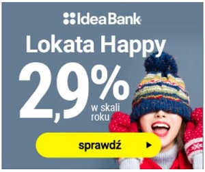 Idea Bank Lokata HAPPY