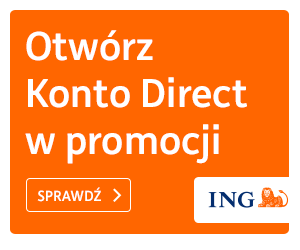 ING Bank ÅšlÄ…ski Konto Direct z premiÄ…