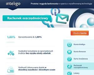 Rachunek Oszczędnościowy Inteligo
