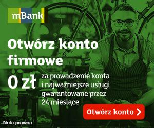 mBiznes Konto + premia mBank