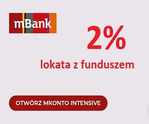 mBank mKonto Intensive