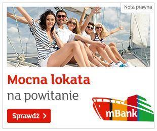 mBank Lokata na powitanie