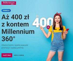 Millennium Konto 360° w promocji z Mastercard