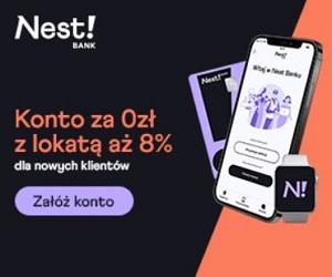 Nest Bank 100 zł premii Nest Konto