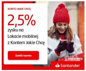 Santander Lokata Mobilna