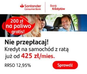Kredyt samochodowy Santander Consumer
