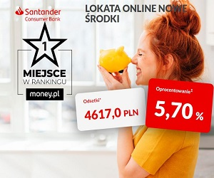 Lokata Online Nowe Środki Santander Consumer