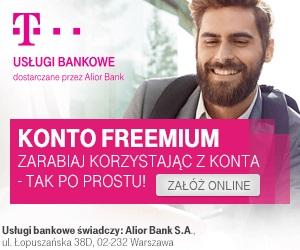T-Mobile Usługi Bankowe Konto FREEMIUM