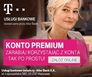 Konto PREMIUM T-Mobile Usługi Bankowe